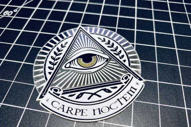 Illuminati All Seeing Eye (Seize the Night)