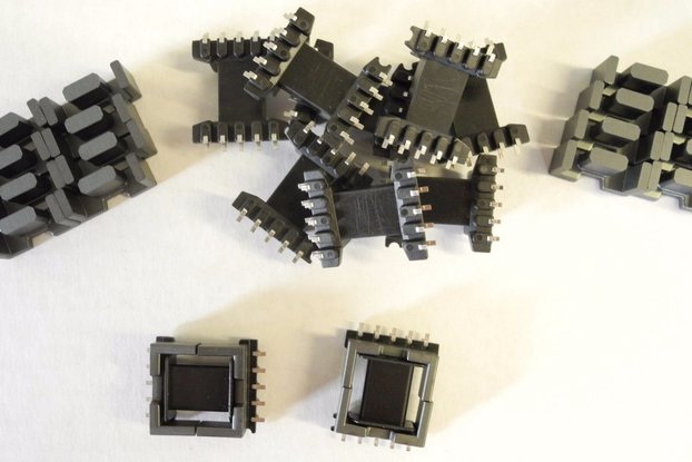 Ferrite Cores with Bobbins EDF20 Sized JPP-95