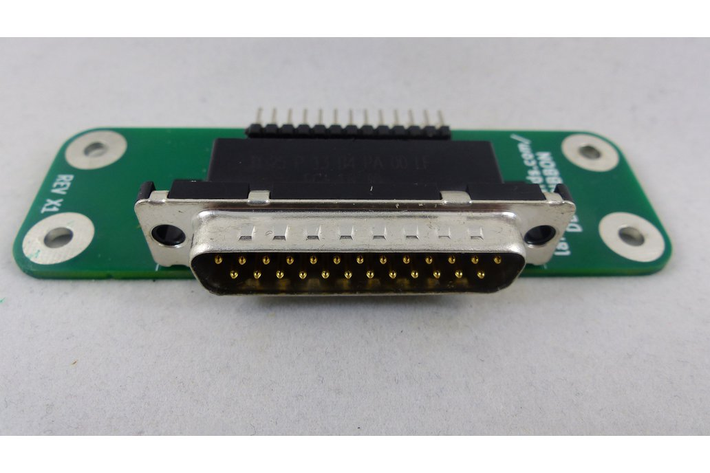 DB-25 to Ribbon Cable Adapter Card 1