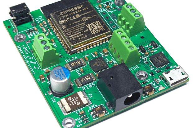 WiFi Stepper Motor Board