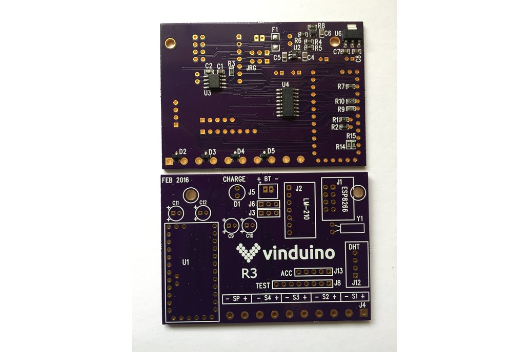 SMD Component-Only Version of Vinduino R3 board 1