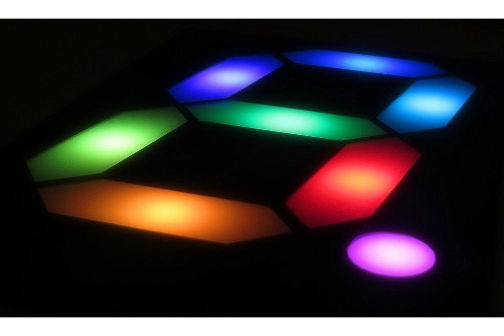 RGB Seven Segment Display for Artist 1