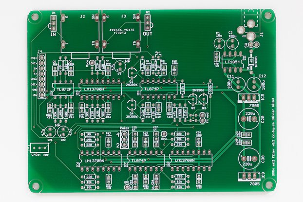 Shruthi SMR4 mkII Filter PCB