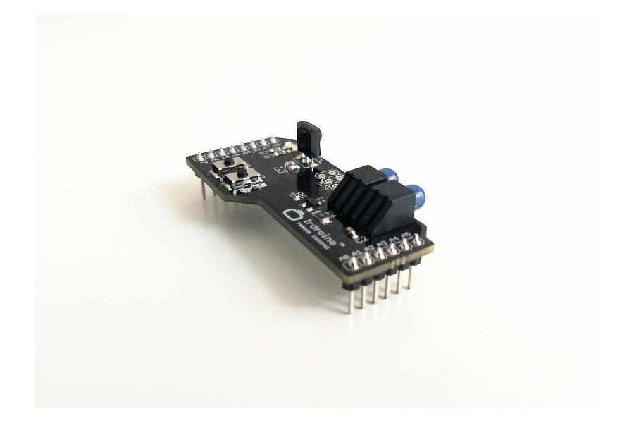 Irdroino Infrared (IR) Shield for Arduino