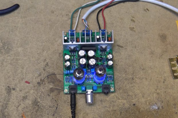DIY Hybrid Power Amplifier Board LM1875T(12008)