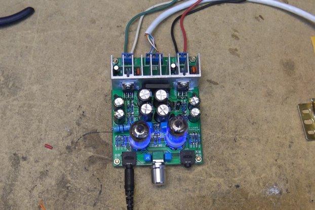 DIY Hybrid Power Amplifier Board LM1875T(12008)