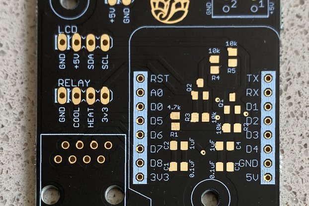 BrewPi-ESP8266 - Beta SMD PCB