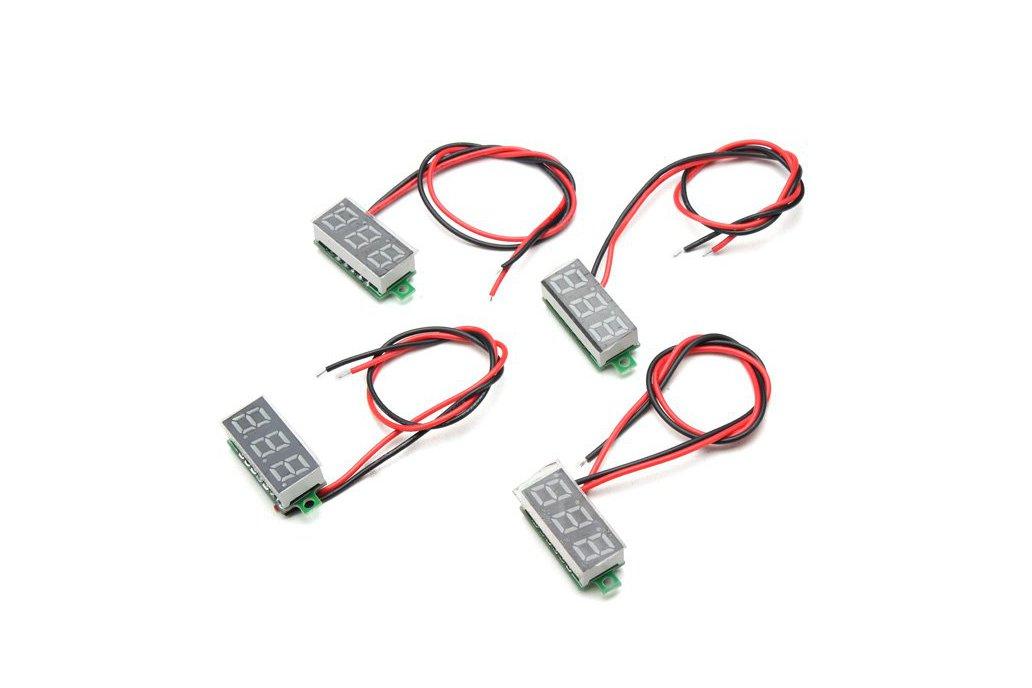 Mini Digital Volt Meterr Voltage Tester Meter 1