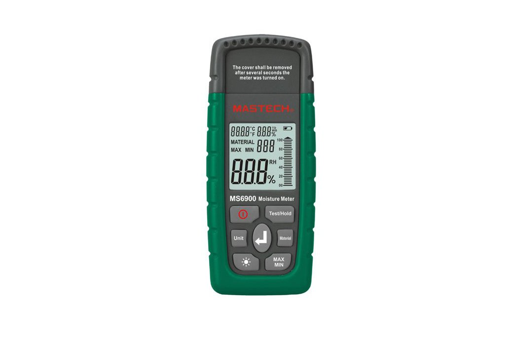 Wood Timber Moisture Humidity Temperature Detector 1