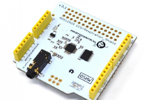 ADS1292R ECG/Respiration shield for Arduino-v2