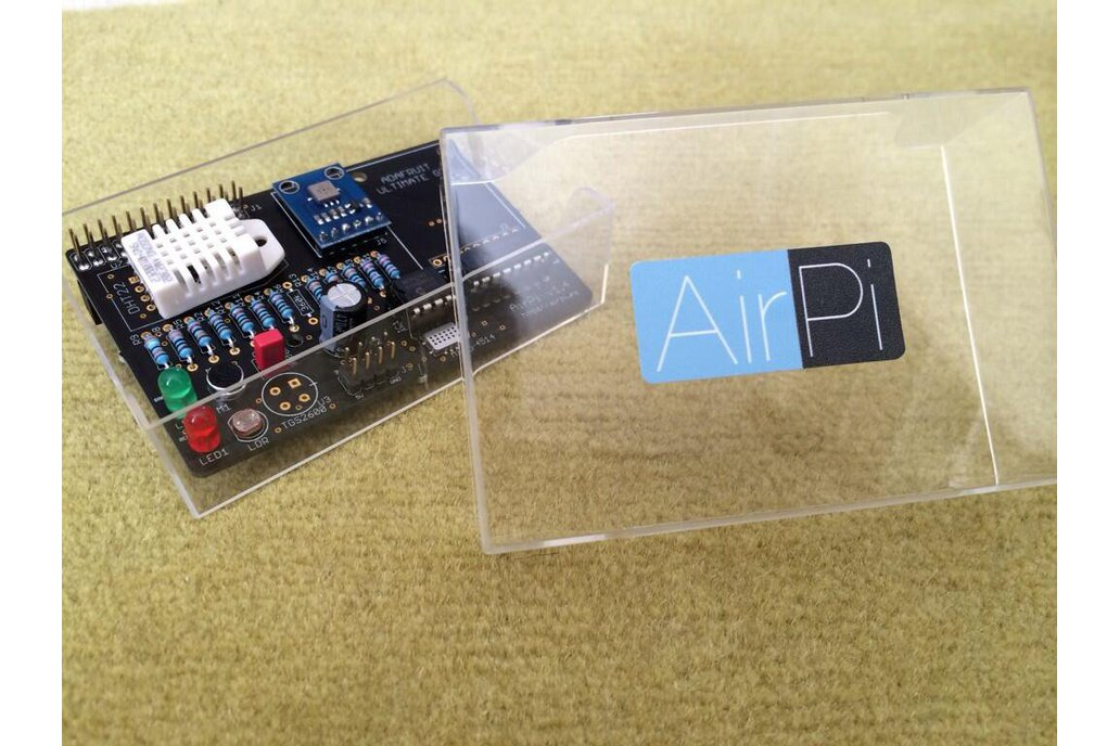 AirPi Kit v1.4 - Raspberry Pi weather shield 2