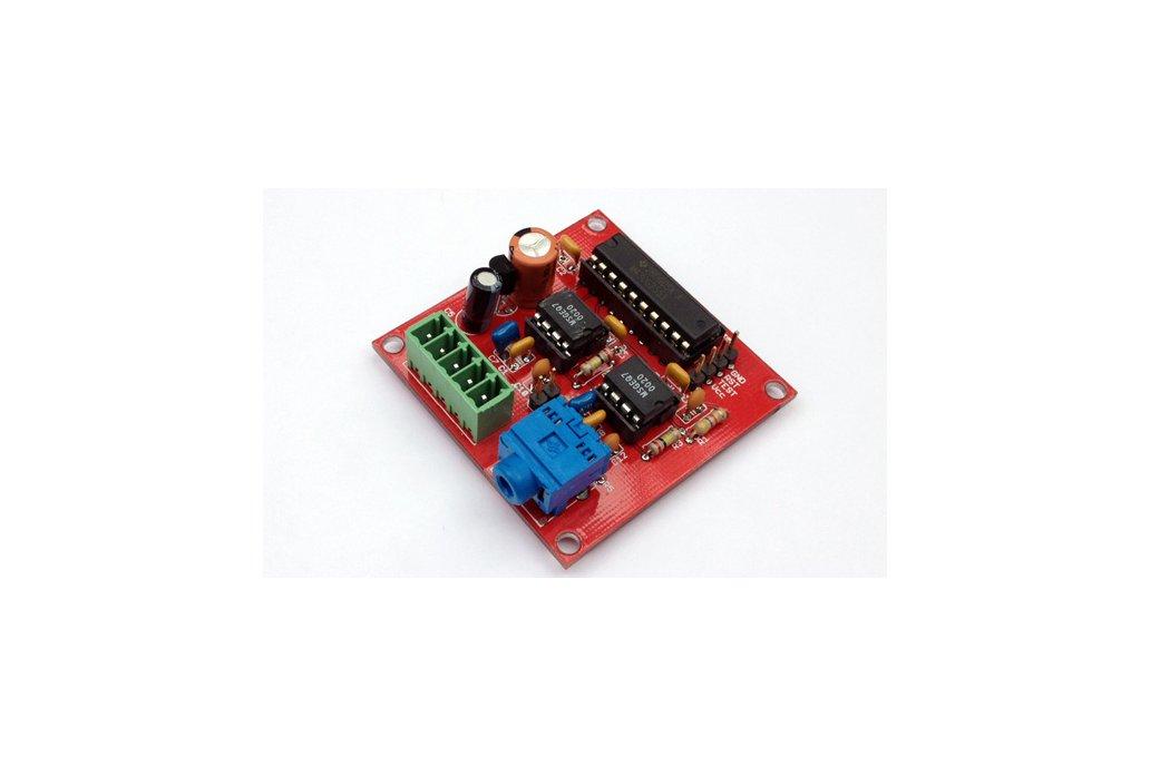 Dual 7 Band Audio Spectrum Analyzer with MCU PCB 1