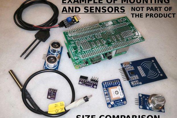 Raspberry Pi IoT Sensor HAT Extension Board