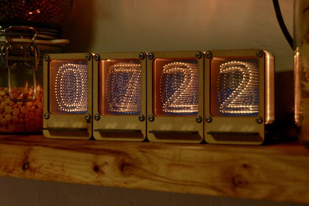 Nixie Pipe Clock