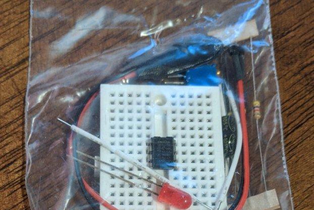 555 Breadboard Timer Kit