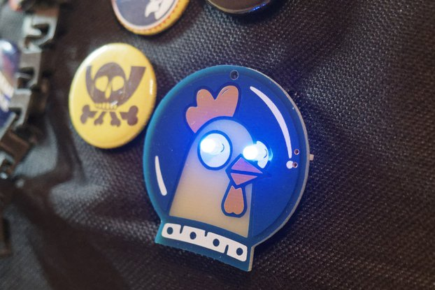 Spacehuhn Badge