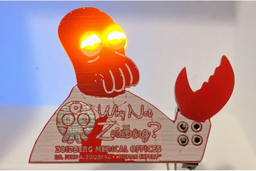 Why Not Zoid-Berg? Futur-o-rama SAO 1