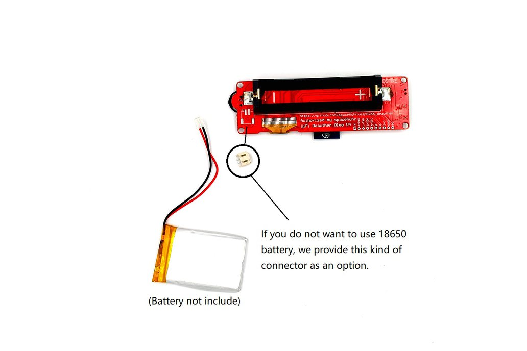 DSTIKE WiFi Deauther OLED V4 4