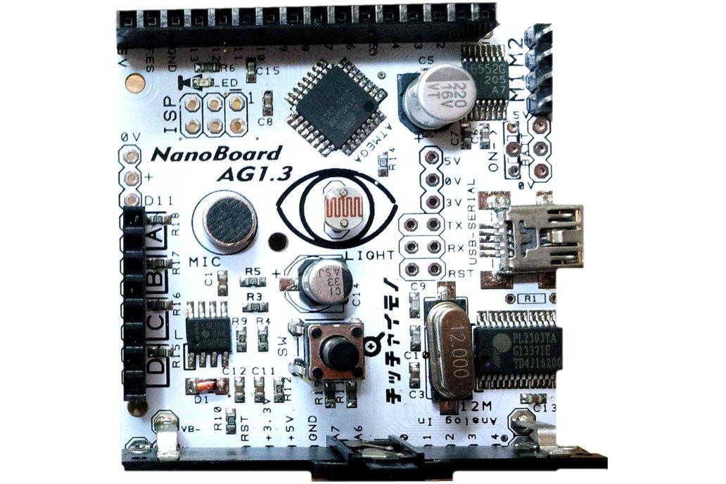 NanoBoard   Scratch sensor board with motor driver 1