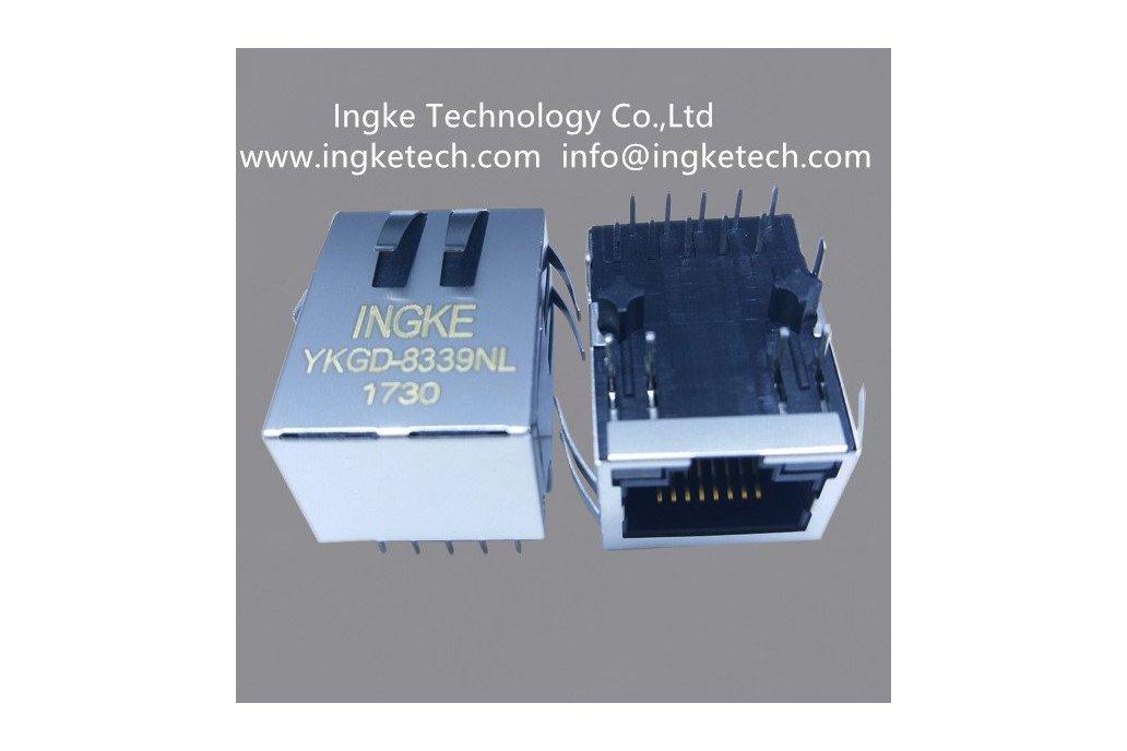 YKGD-8339NL Ingke Magnetic Modular Jacks  2