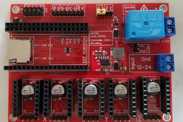 Grbl_ESP32 MPCNC CNC Controller Ver 1.2.2