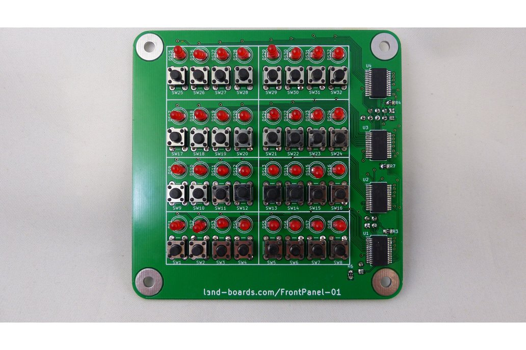 Front Panel for some Microprocessors (PCB only) 1
