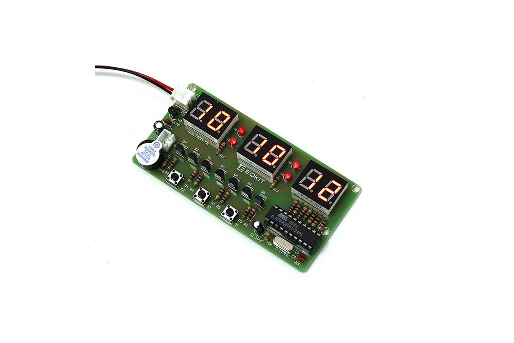 C51 Electronic Clock Suite DIY Kits(2042) 4