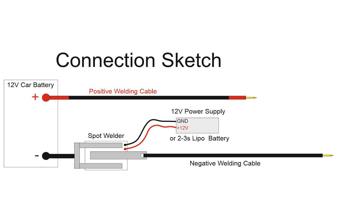 DIY Arduino Battery Spot Welder V2 Prebuilt Kit