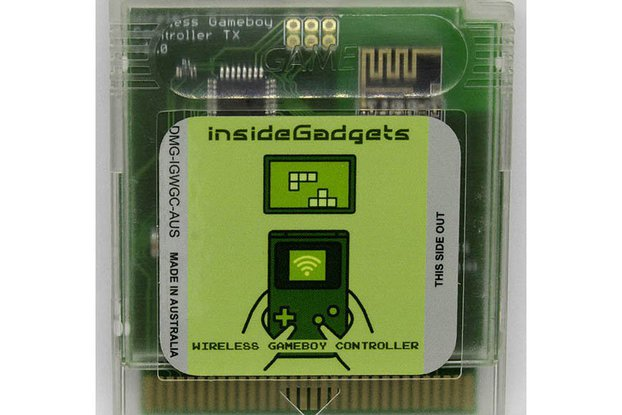 Wireless Gameboy Controller Device