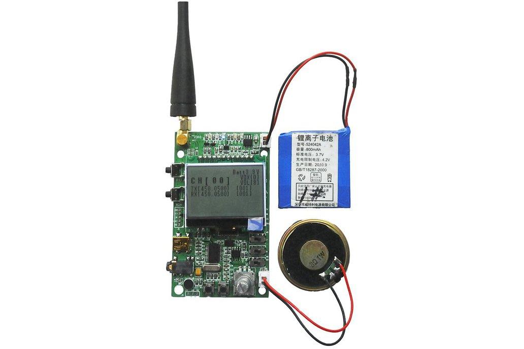 DEMO_D   FM radio module demo board  (for 1W/ UHF) 1