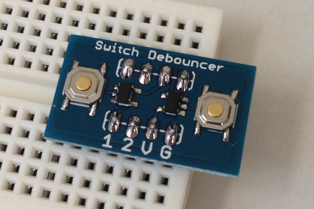 Hardware Switch Debouncer 1