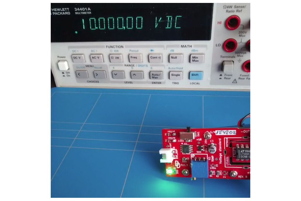 Voltage standard reference calibration 1