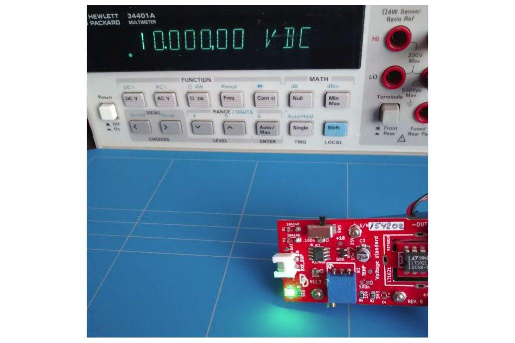 Voltage standard reference calibration 1