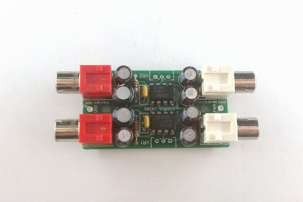 Stereo Audio Amplifier Kit (#2142)