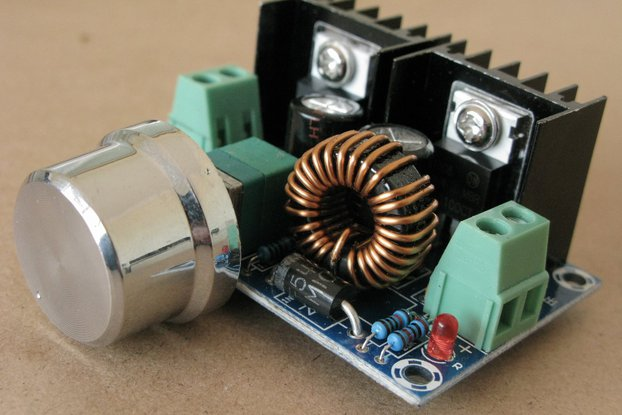 Precise POWER SUPPLY adjustable OUT 1V to 36V 200W