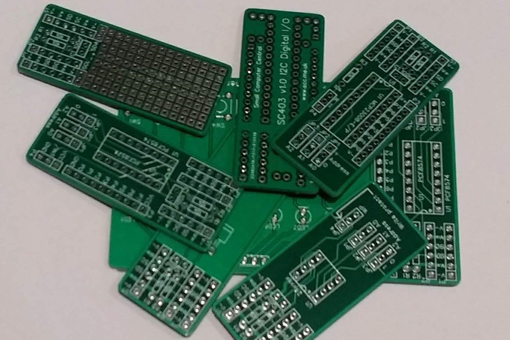Pick'n'Mix Boards for the I2C bus 1