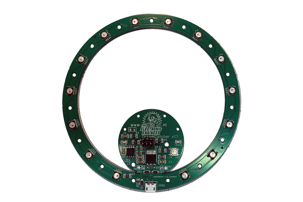 Dream Catcher Arduino PCB 1
