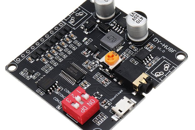 12V/24V Voice Playback Amplifier Module 10W/20W