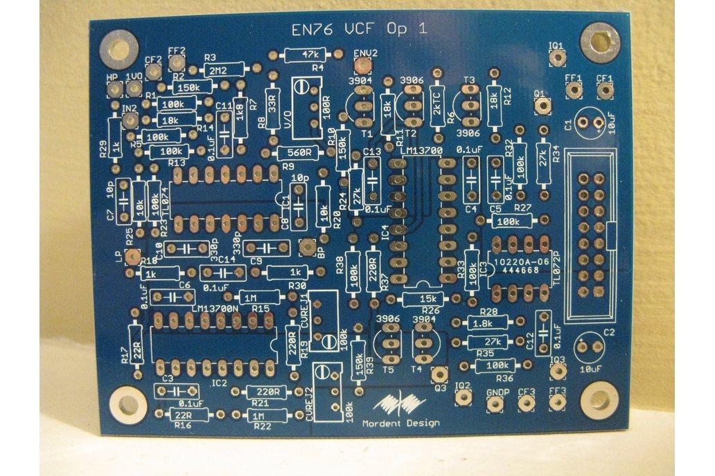 ENS-76 VCF-1 Eurorack PCB 1