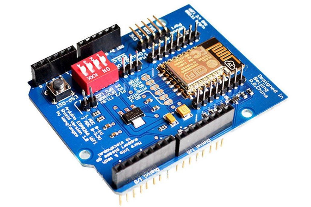 ESP-12E ESP8266 Wireless Shield For Arduino(6990) 1