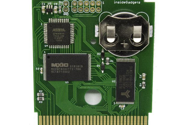 Gameboy 1MB 128KB SRAM Flash Cart