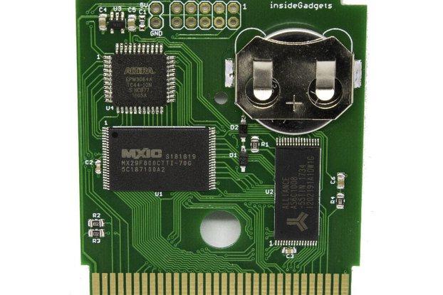 Gameboy 1MB 128KB SRAM Flash Cart