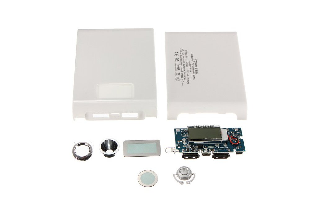 DIY Kit Dual USB Power Bank Battery Charger Box 3