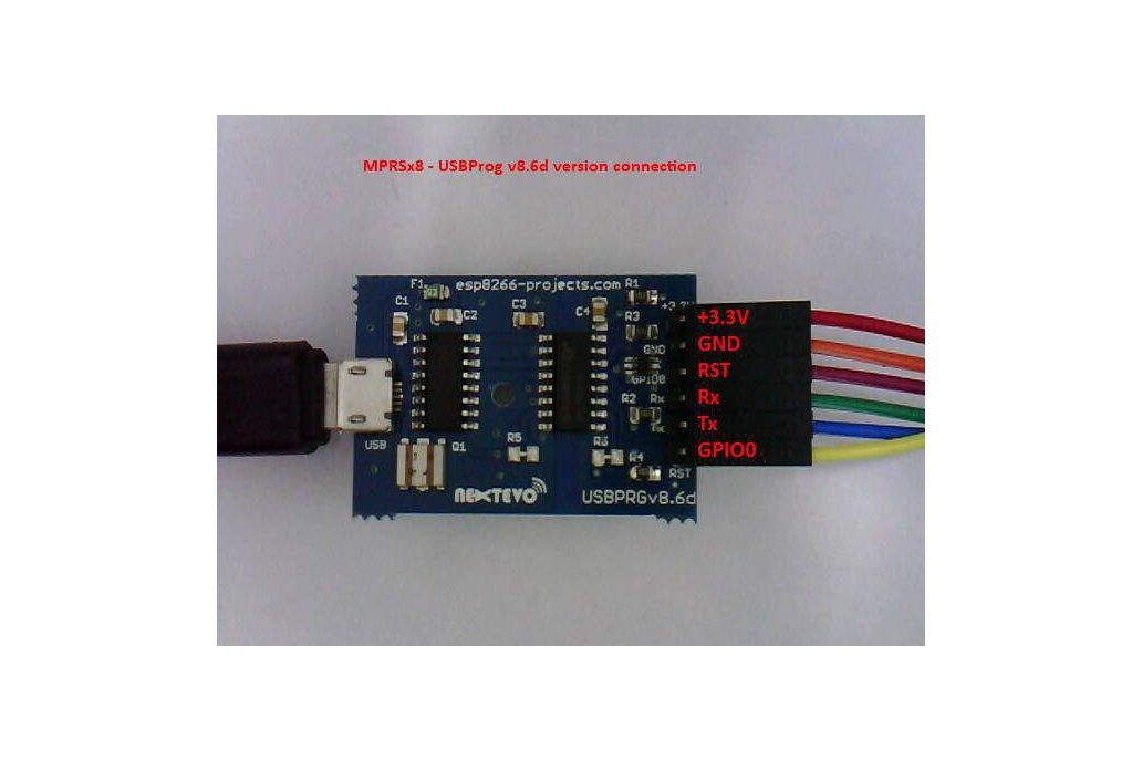 USBPRGv8.4 Isolated USB-Serial Programmer Adapter 1
