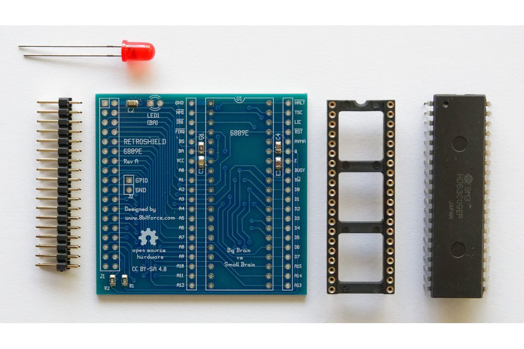 RetroShield 6809 for Arduino Mega 1