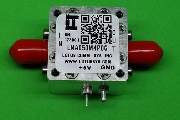 Amplifier-LNA 50MHz to 4000MHz Ultra Low Noise