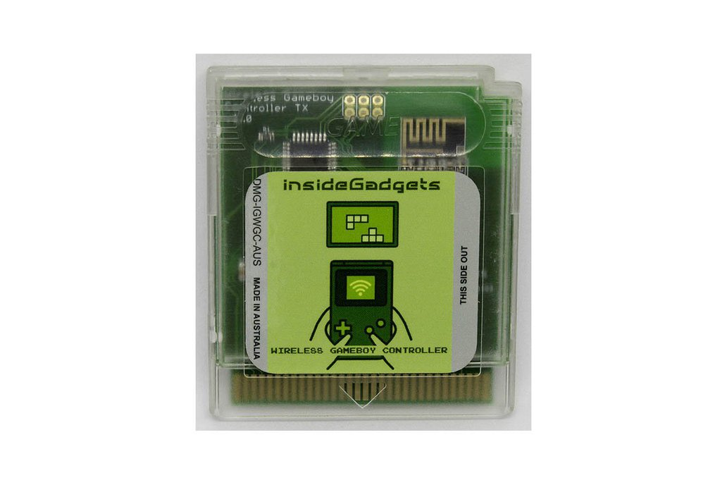 Wireless Gameboy Controller Device 1