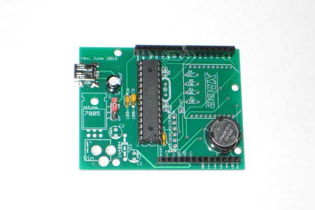 wsduino - an Arduino-compatible with onboard RTC