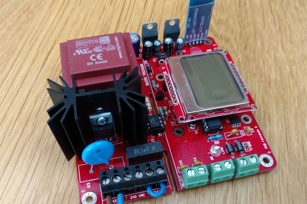 Android Bluetooth Reflow Oven Controller