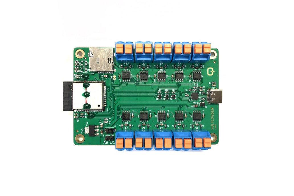 Voltlogger - 10 Channel Thermocouple Data Logger 1